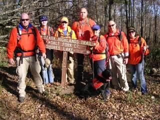 Hiking the Ozark Highland Trail