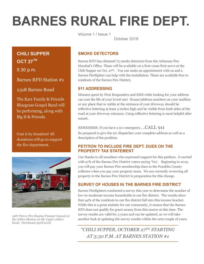 Barnes Autumn Newsletter Volume 1 Issue 1-page-001
